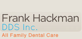 Dentist in Northridge, Ca Logo - Dr. Hackman DDS